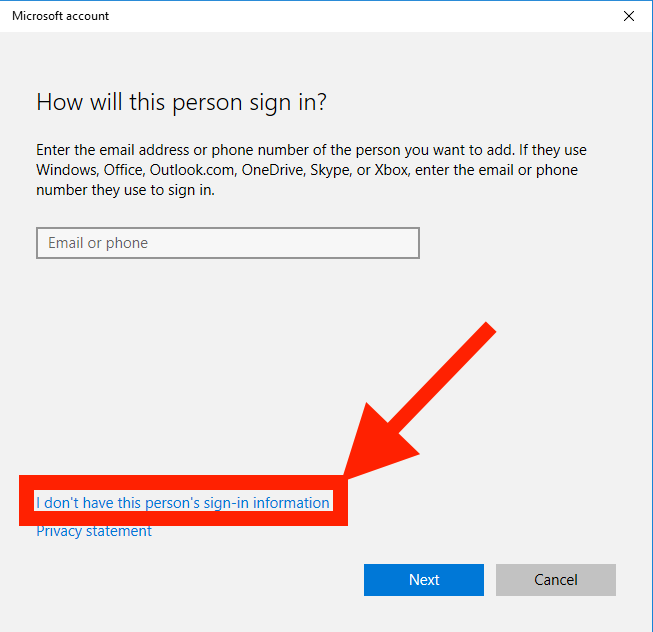 Create Local User or Administrator Account in Windows 10 -4